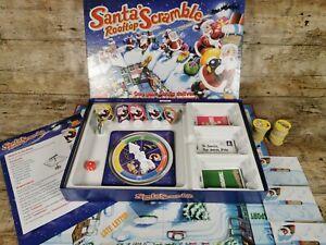 Santas Rooftop Scramble Board Game - Christmas Game Stocking Filler
