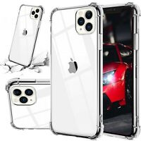 Hard Hybrid Clear Phone Case For iPhone 11/11 Pro Max /XS Max/XR/X/6 6s 7 8 Plus