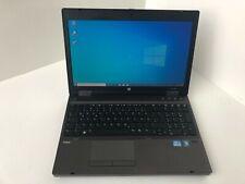 HP Probook 6560b i5 2520M 2,5GHZ 8GB 256GB SSD DVD W10 Webcam Mwst 60B3