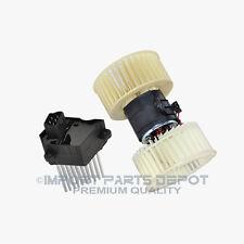 AC Heater Blower Motor + Regulator Resistor BMW E39 E53 X5 5 Series 558/204 New