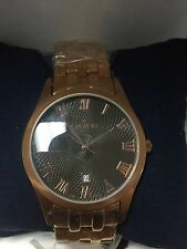 Closeout Brand New Croton Men's Model Number CN307109 Stainless Steel Rose Tone