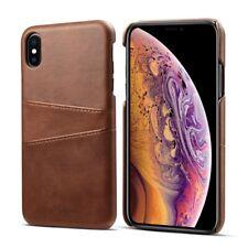 iPhone XS / ipho X HülleTasche Leder Braun Luxus Case Cover Aus Deutschland 🇩🇪