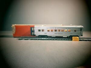 LIONEL O SCALE 2421 MAPLEWOOD ILLUMINATED PULLMAN CAR WITH O.B.
