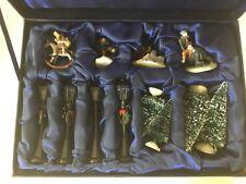 Norman Rockwell Miniature Village Collection Skaters Bedside Manner Good Deeds