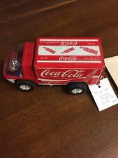 Vintage Taiyo Japan Coca Cola Big Wheel Van Truck Battery Operated