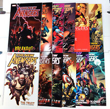 NEW AVENGERS Set/Lot of 12 Volumes TPB (2006, Marvel) NM/NEW - Brian Bendis