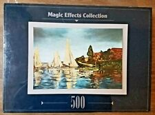 New Magic Effects Collection REGATTA at Argenteuil Monet 500 Pc Jigsaw Puzzle
