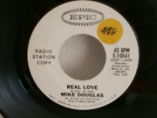 MIKE DOUGLAS Real love EPIC 5-10041 PROMO