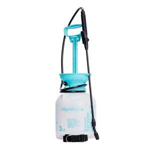 3L Garden Pressure Sprayer Portable Hand Pump Chemical Weed Spray Bottle
