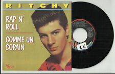 RITCHY disque 45 t 2 titres pochette photo RAP N' ROLL Comme Un Copain