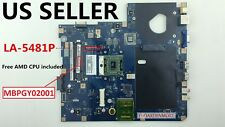 LA-5481P MBPGY02001 AMD Motherboard + CPU for Acer Aspire 5517  laptop, US Loc A