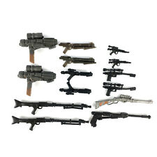 "Lot 14pcs Weapon Guns Accesories For 3.75"" STAR WARS Clone Wars Movies Figures"