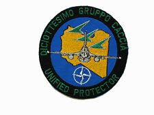 Patch 18° Gruppo Caccia Aeronautica Militare Operazione NATO Unified Protector