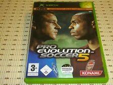 Pro Evolution Soccer 5 pes 5 para Xbox * embalaje original *
