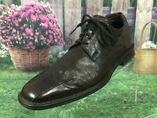 Costume National Homme Brown Leather Dress Oxfords Shoes Men's Size 9.5 US
