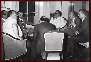 1960s Original Photo Josip Broz Tito Meeting White Suit Yugoslavia Communism