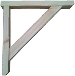 500mm - 900mm HANDMADE GALLOWS BRACKETS PRESSURE TREATED JOINERY GRADE TIMBER