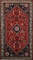 Vintage Tribal Abadeh Geometric Hand-knotted Area Rug Traditional Oriental 2'x3'
