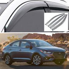 Car Window Visor Vent Deflector Guards for Hyundai Accent Sedan 2018 2019 2020