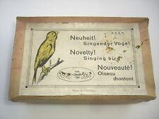 Originalkarton für Uralt Muscho  Singvogel  um ca.1915