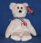 TY ENGLAND the BEAR BEANIE BABY - MINT with MINT TAGS - UK EXCLUSIVE