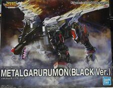 Figure Rise Standard Digimon Metal Garurumon Black ver. model kit Bandai