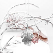 Authentic 925 Solid Sterling Silver, Oak Leaf Necklace, 70cm Chain