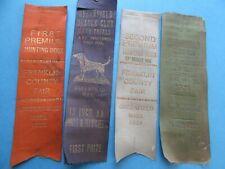 7 Greenfield Ma Beagle Field Trial Ribbons !929 & 31