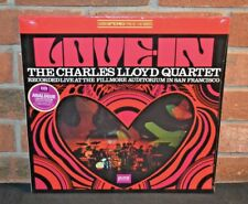 THE CHARLES LLOYD QUARTET - Love-In, Ltd 180 Gram BLACK VINYL analogue SEALED!