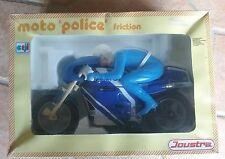 Jeux Jouet Ancien moto de police  JOUSTRA dans sa boite