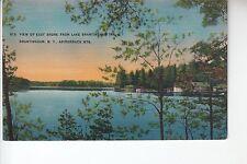 View of East Shore from Lake Brantingham Inn Brantingham NY