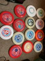 Lot of 14 discs - Frisbee Disc Collection -  175 g