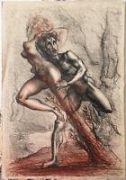 Innocenti Marcello litografia a colori 38x57 firmata numerata