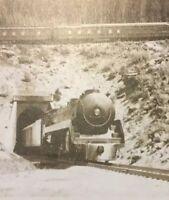 Postcard, Train Tunnel Banff Canada, Vintage P21