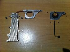 Apple iBook G4 A1054 Heatsink 613-5834-A Fan 613-5822-A GC054010VH-8 w/ Screws