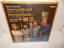 SCHUMANN Streichquartette Klavierquintett Kreuzberger Telefunken 2 LP Set SEALED