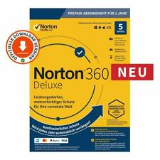 Symantec NORTON 360 Deluxe (5 Device - 1 Jahr) ABO inkl. 50GB WIN/MAC/Android