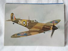 AIRCRAFT POSTCARDS VICKERS ARMSTRONG SUPERMARINE SPITFIRE 11A P7350