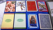 48 Swap Playing Cards Flowers/Norman Rockwell/Ships/Shells/Astrology/Gun/Kitten