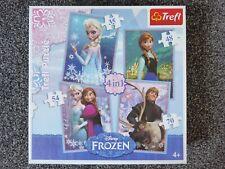 Trefl - Disney Frozen - 4 IN 1 Puzzles - 35, 48, 54 + 70 Pieces