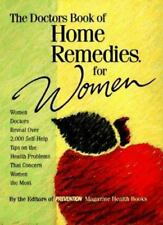The Doctors Book of Home Remedies for Women: Women Doctors Reveal-ExLibrary