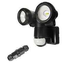 PIR Movement Detector Lantern Outdoor Home Security Sensor Garden Light Ip43 White