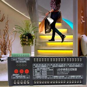 2in1Treppen LED Bewegungssensor Lichtstreifen Dimmlicht Innenbewegungsnacht DIY