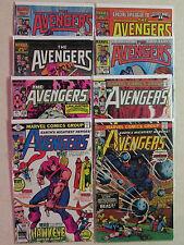 Marvel Comics AVENGERS 8-Pack Comic Book Grab Bag -Bronze, Copper, & Modern Age