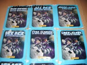 Panini ICE AGE Collision Course 50 x new and closed Sachet Stickers BlueSky