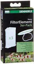 Ersatzkartusche für Nano Eckfilter 3er Pack DENNERLE Filterelement Filter 5865