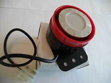 Sirena Piezo 12 V pequeña 115dB aullido tono para su uso con alarmas de coche-Nueva En Caja