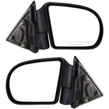 Set of 2 LH & RH Side Heated Power Mirror Fits Chevrolet S10 GMC Sonoma Jimmy
