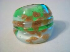 MURANO GLASS RING LAMPWORK SIZE 7