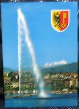 Switzerland Geneve Le Jet d'eau et le Mont Blanc - posted 2013